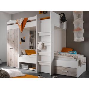dvoupatrova ulozna postel