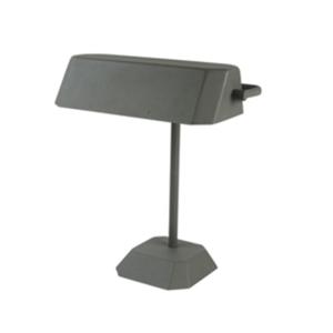 stolni lampa metal notary seda