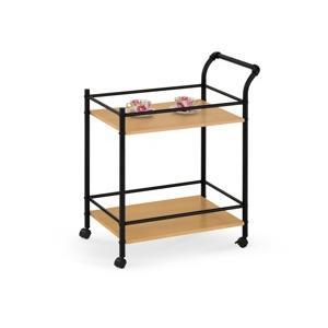 barovy stolek bar 12 cerna prirodni