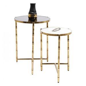 odkladaci stolek hipster bamboo set 2 ks