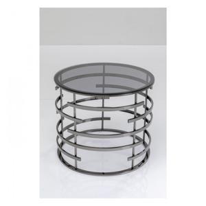 odkladaci stolek saturn black o60 cm