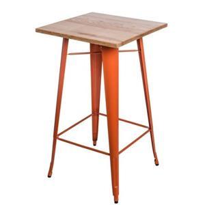 barovy stul paris wood jasan oranzova