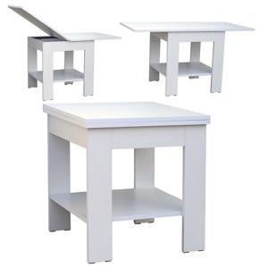 bily konferencni stolek rozkladaci