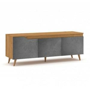 hector tv stolek tule rtv 140 cm dub craft beton