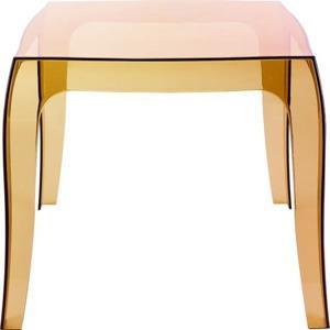 konferencni stolek duch oranzova transparentni