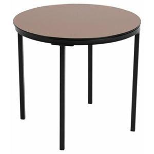 odkladaci stolek gina hneda