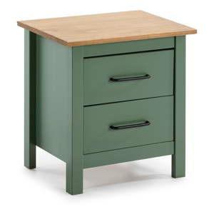 zeleny dreveny nocni stolek marckeric miranda